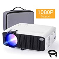Mini Projector, APEMAN 4000L Brightness 180