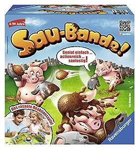 Ravensburger 22267 - Kinderspiel Sau-Bande!