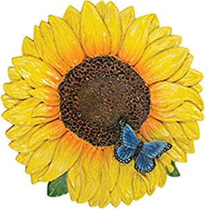 Carson 12783 Sunflower with Butterfly Garden Stone, Multi