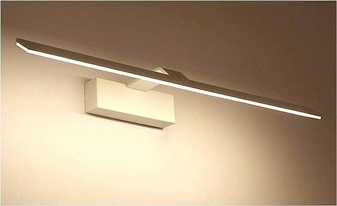 Specchio bagno lampada led lisafeng corpo in lega di alluminio e