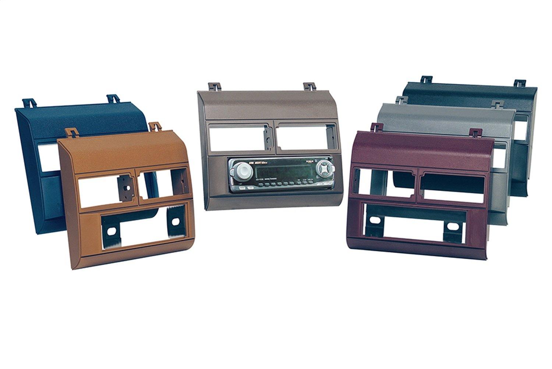 Scosche GM1482B Single DIN Installation Dash Kit for Select 1988-1994 Chevrolet & GM Trucks (Black)