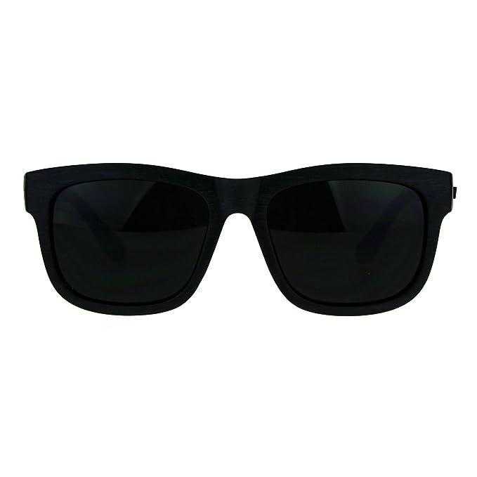 Amazon.com: Kush negro oscuro lente anteojos de sol cuadrado ...