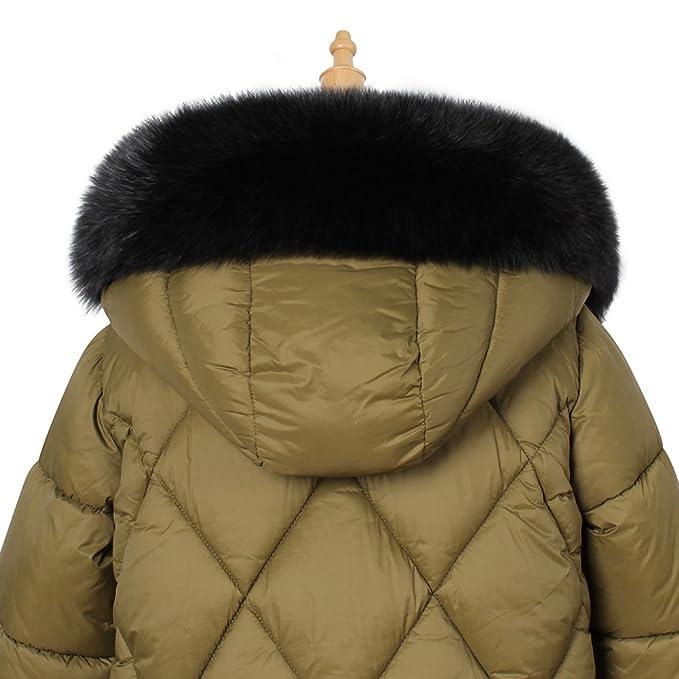 9189edbb Roniky Womens Mens Trim Hood Faux Fake Fur Hood Winter for Jacket Ski Scarf  Neck Warmer
