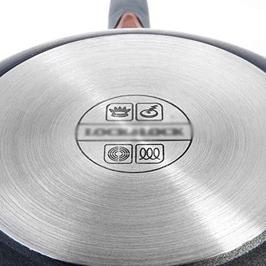 X_love Refuerzo de la sartén Antiadherente Maifan Stone La sartén se Puede Utilizar como sartén Ollas para cocinar en el hogar Cocina de inducción Gas para ...