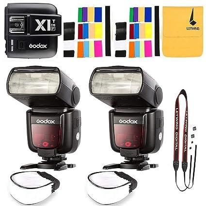Amazon com : GODOX TT685F HSS 2 4G TTL GN60 2X Camera Flash High
