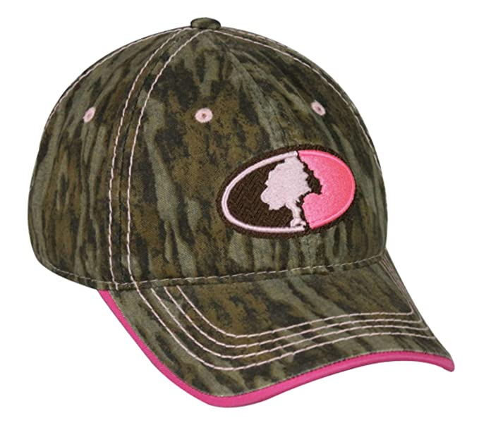 Amazon.com  Mossy Oak Ladies Camo Hunting Logo Women s Cap (Mossy ... 811dae96ddf