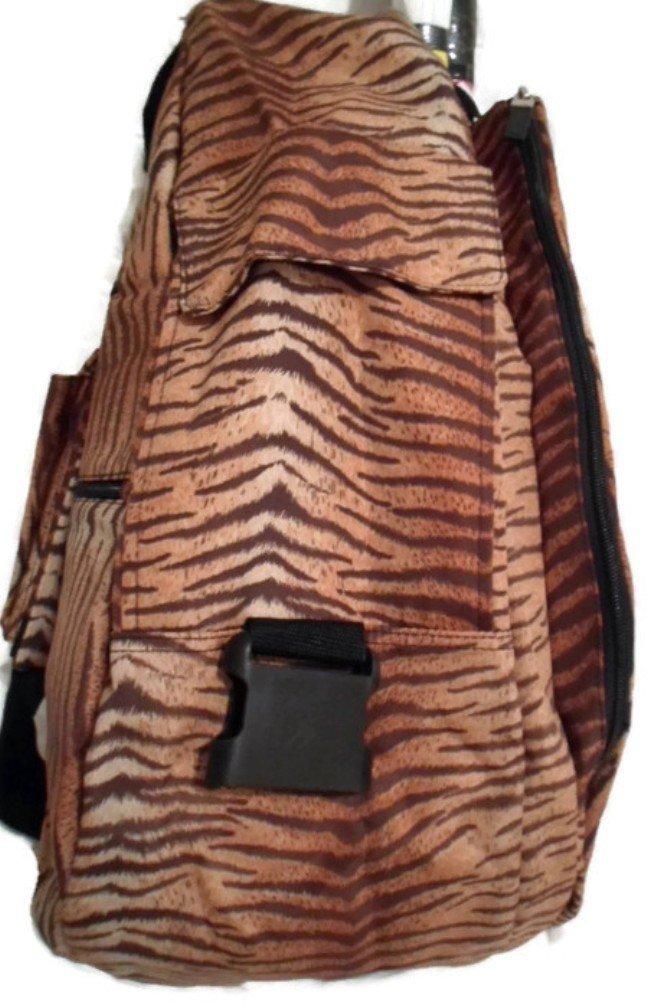 Jetpac Jet Tiger Safari Animal Life is Tennis Womens Tennis Racket Sling Backpack Bag