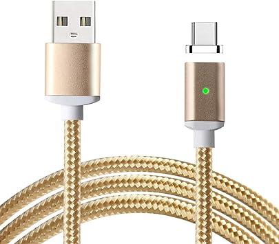 USB Tipo C Cable de carga magnético,Lively Life USB-A Adaptador ...