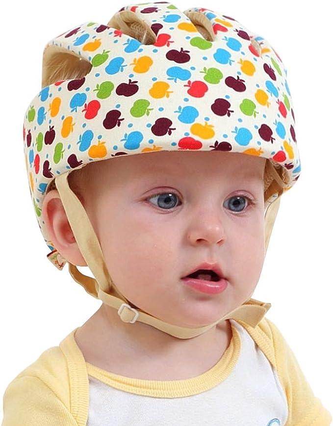 Casco de Seguridad para Bebé Infantil Antigolpes Sombrero con ...