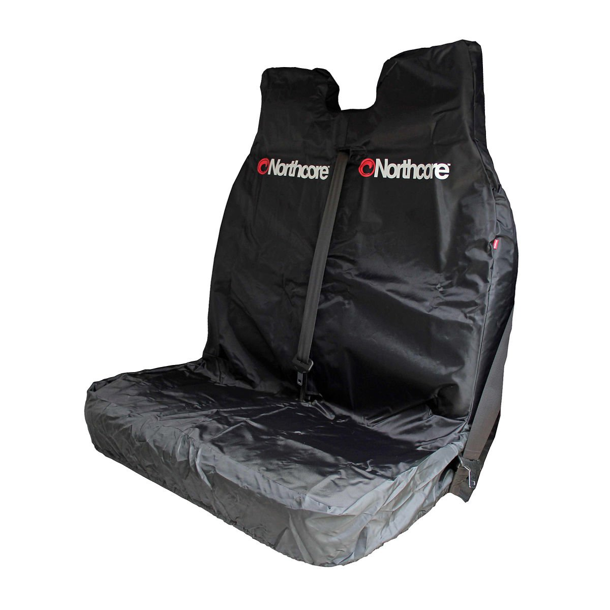 Northcore Waterproof Double Van Seat Cover BLACK NOCO06