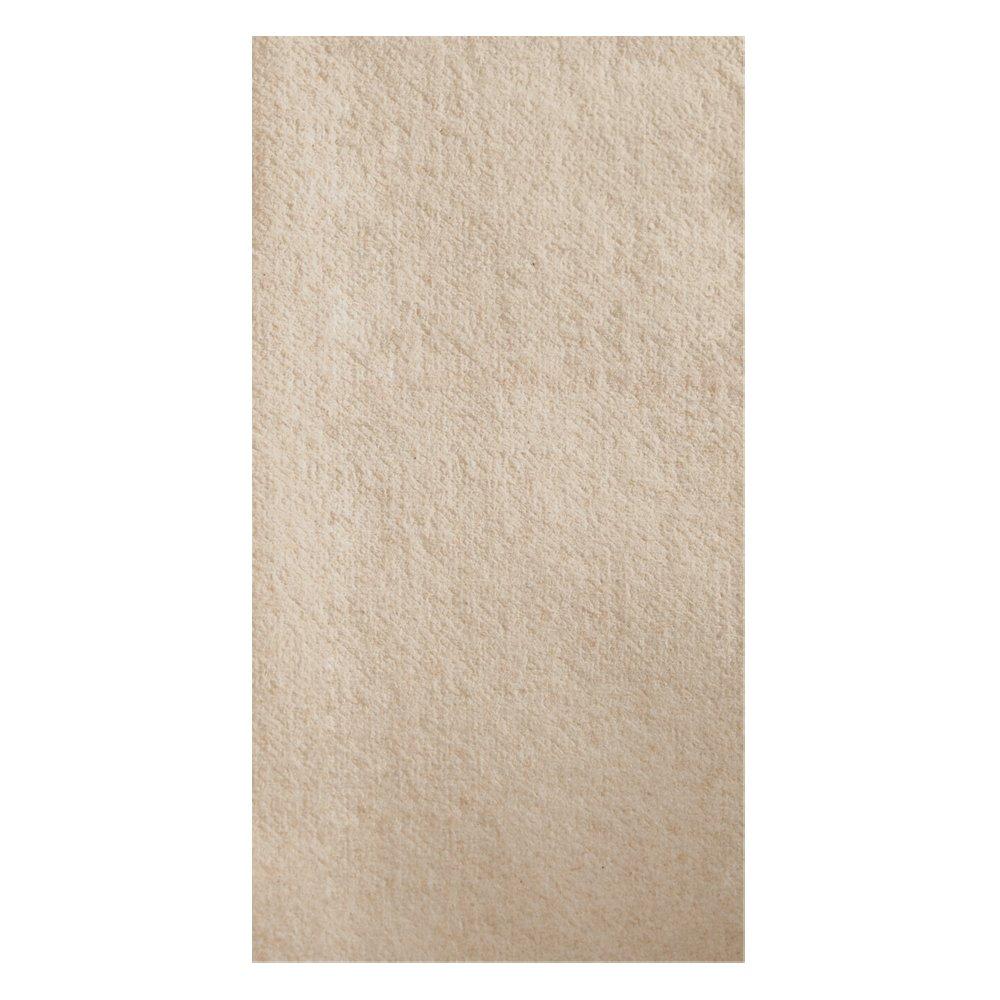 Hoffmaster 066072 Linen-Like Natural Dinner Napkin, Unembossed, 1/8 Fold, 17