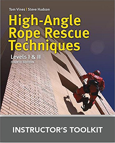 High Angle Rope Rescue Techniques Instructor's ToolKit CD by Jones & Bartlett Learning