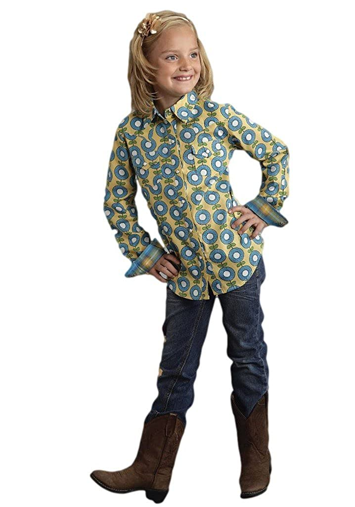 Roper Graphic Floral Print Girls