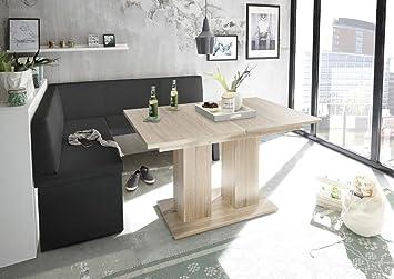 Mystylewood Olga Banc De Cuisine D Angle En Chene Avec Table