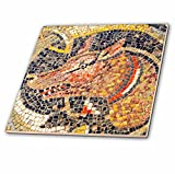 3dRose Danita Delimont - Artwork - Hunting dog Mosaic, New House Of Hunt, Bulla Regia, Tunisia - 12 Inch Ceramic Tile (ct_276614_4)