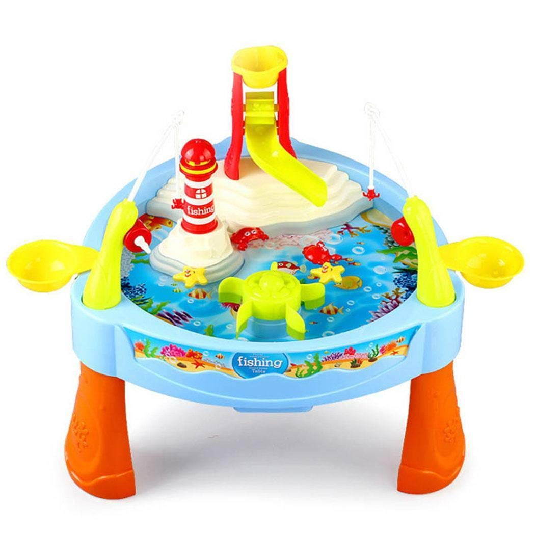 Queind Practical Children Fishing Toy Set Parent-Child Interactive Game Basic & Life Skills Toys by Queind (Image #1)