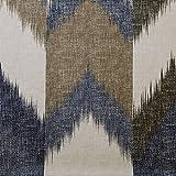 designer shower curtain  Alpine Cotton Printed Shower Curtain Navy 72x72