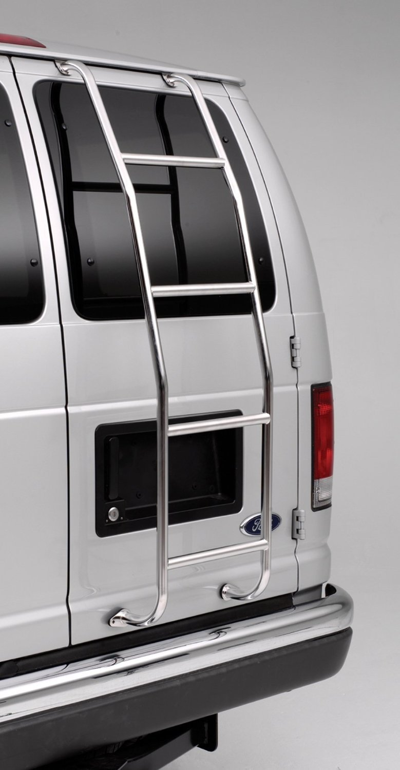 Surco 093F99 Stainless Steel Van Ladder For Ford 4