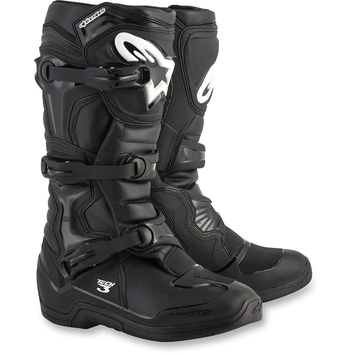Alpinestars Tech 3 Mens MX Offroad Boots Black 12 USA