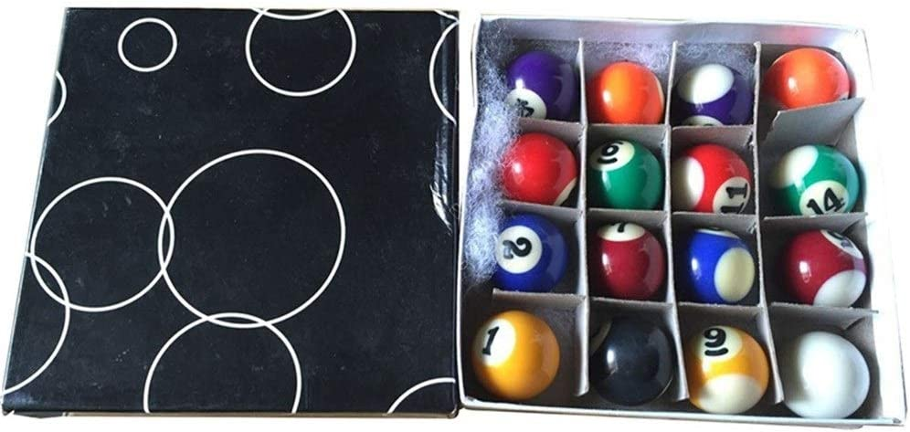 Beat all Un Juego Completo de 16 miniaturas de Billar Mini Billar Billar de 25 mm de diámetro s9f0a34f: Amazon.es: Deportes y aire libre