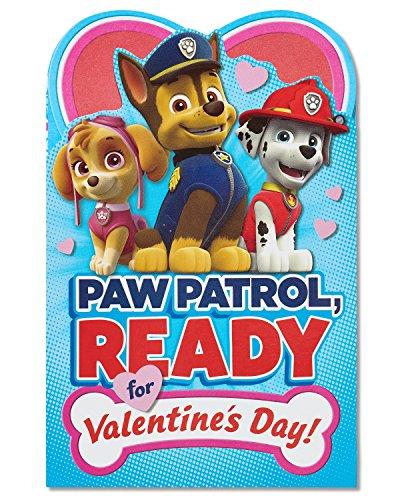 American Greetings PAW Patrol Valentine's Day Card