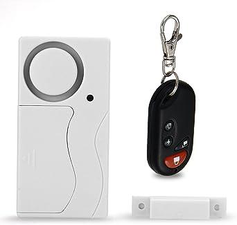 Alarme magnétique sans fil détecteur d/'ouverture fenêtre porte protection enfant