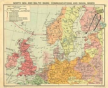 Amazon De Zweiter Weltkrieg Nordsee Ostsee Minefields Naval