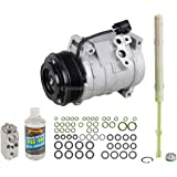 AC Compressor w/A/C Repair Kit For GMC Acadia Buick Enclave Chevy Traverse