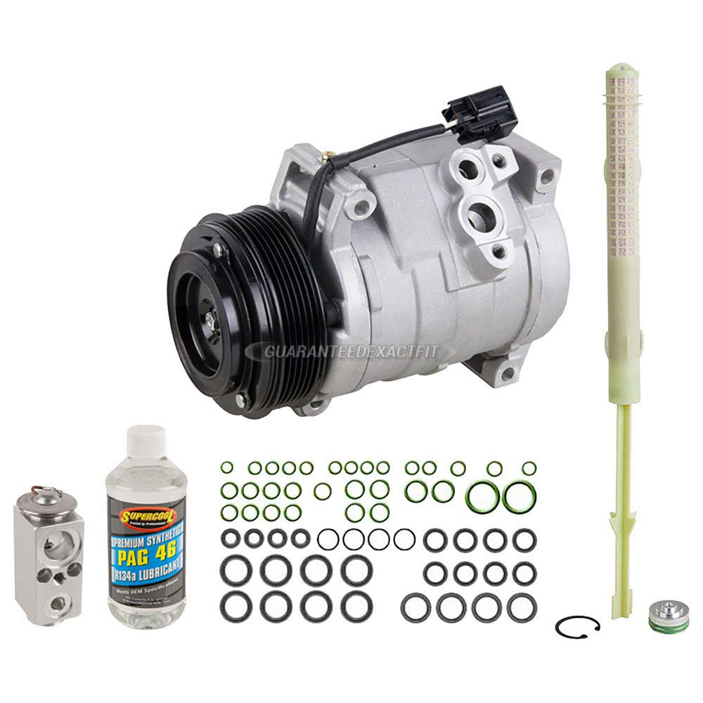 Amazon.com: AC Compressor w/A/C Repair Kit For GMC Acadia Buick Enclave Chevy Traverse - BuyAutoParts 60-80464RK NEW: Automotive