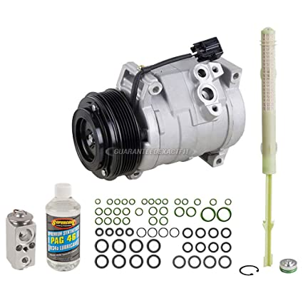 AC Compressor w/A/C Repair Kit For GMC Acadia Buick Enclave Chevy Traverse  - BuyAutoParts 60-80464RK NEW