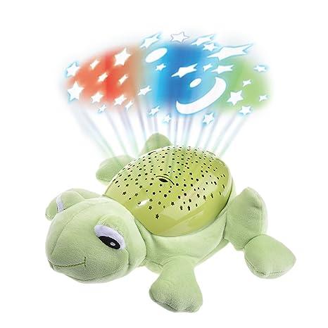 Per Peluches de Proyector Nocturno Infantil Juguetes de Luces Musicales para Noche Peluches de Felpa para