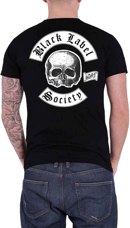 Skull Logo Pocket Schwarz T-Shirt Black Label Society