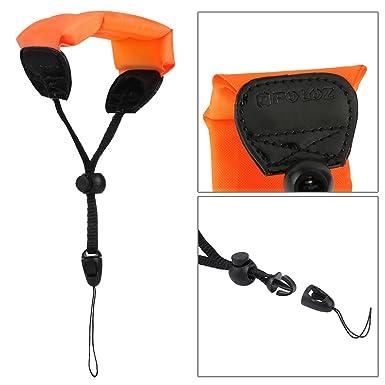 ledmomo, de flotador de cámara universal impermeable espuma flotante Correa para la muñeca para cámara