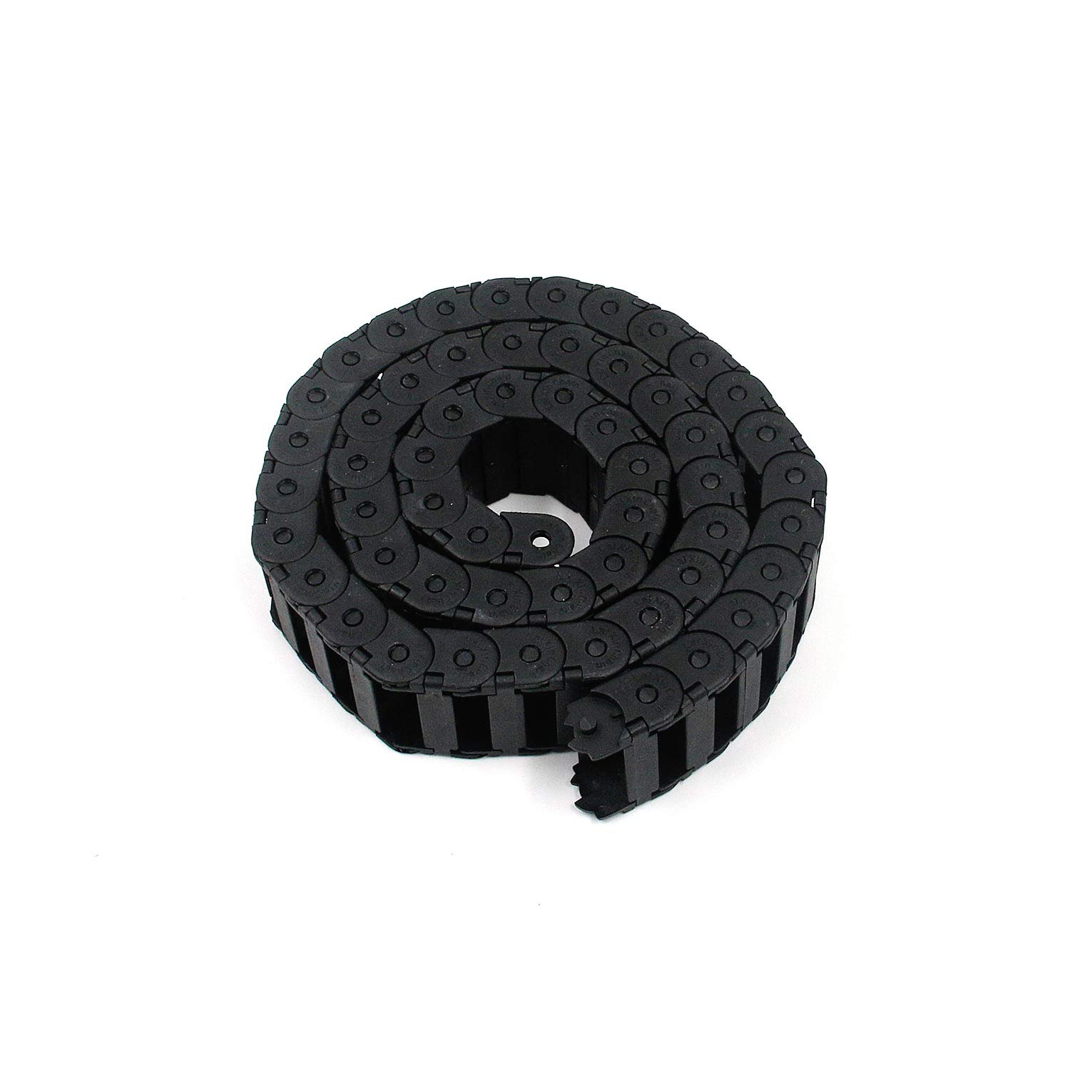 Karcy Drag Chain Nylon Black Cable Drag Chain Wire Carrier for 3D Printer and CNC Machine 1m//3.3 FT Length 15mm x 30mm Internal Size Pack of 1