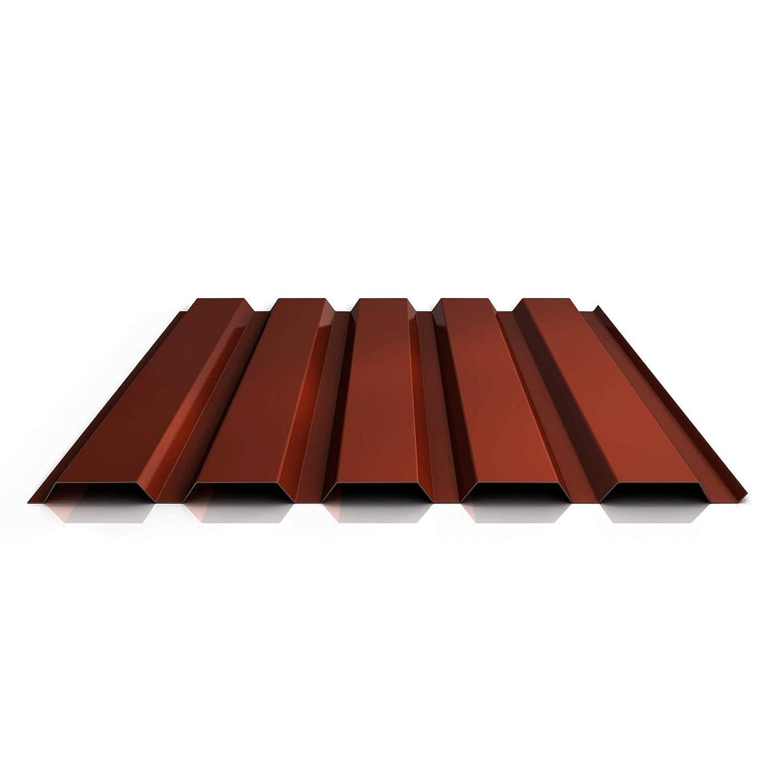 Profil PS35//1035TW Profilblech Material Stahl Beschichtung 25 /µm Trapezblech St/ärke 0,50 mm Farbe Hellelfenbein Wandblech