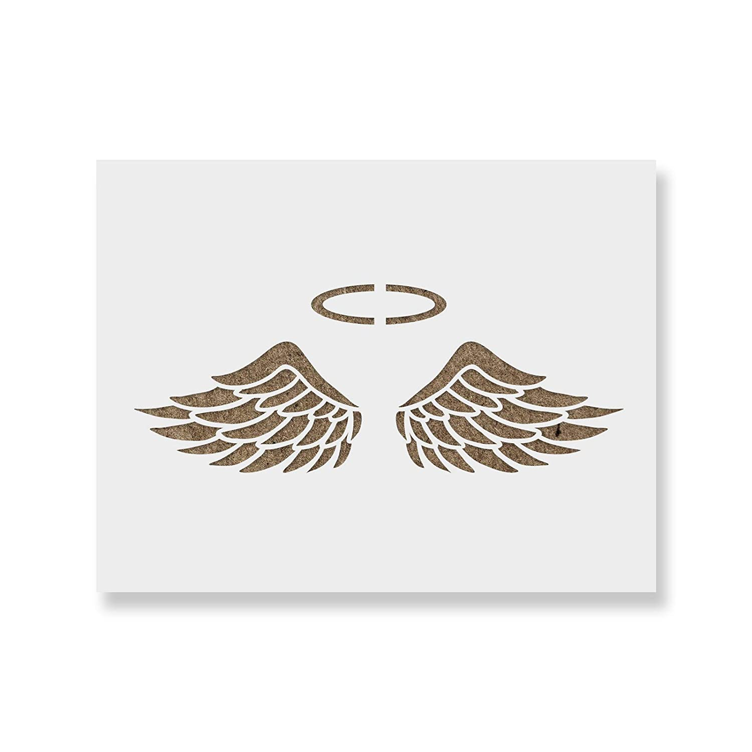 Amazon Angel Wings Stencil Template Reusable Stencil With