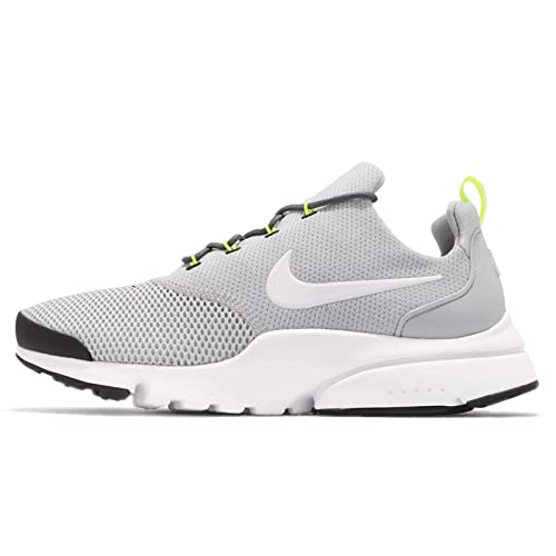 995e02b70c16 Nike Mens Presto Fly Wolf Grey White Mesh Trainers 7 UK  Amazon.co.uk  Shoes    Bags