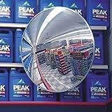 Indoor/Outdoor Polycarbonate Convex Circular Mirror, 12'' Dia.