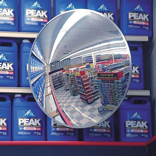Indoor/Outdoor Acrylic Convex Circular Mirror, 36