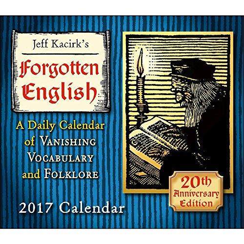 Forgotten English 2017 Daily Desk Boxed Calendar (Scenic Desk Calendar)