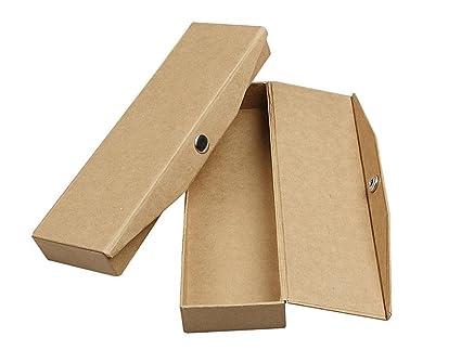 12 papel maché para decorar estuches x2,5 cm 21 x 6 | Cajas de