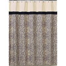 Animal Safari Kids Bathroom Fabric Bath Shower Curtain by Sweet Jojo Designs