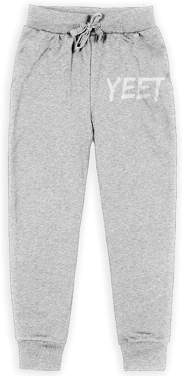 S-XL Free Zone YEET Boys Cotton Sweatpants,Big BoysSweatpant,Jogger Pants//Pocket Sweatpants//
