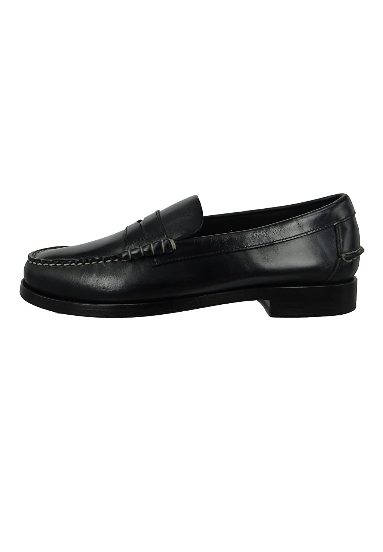 Sebago Schuhe Stiefelschuhe Slipper Beef Roll Legacy Penny B766087 B766087 B766087 schwarz Leather Schwarz 7e8317