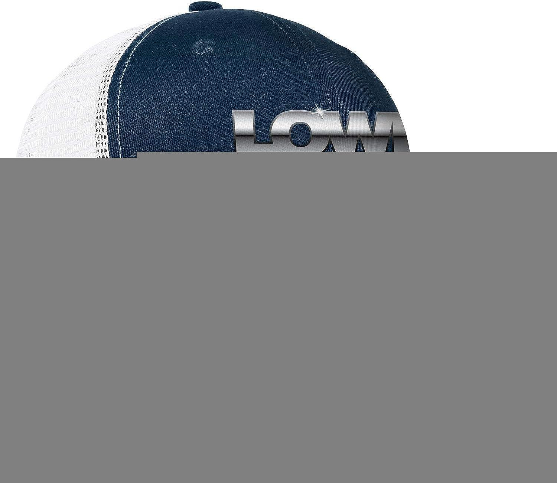 Snapback Mens Women Adjustable Rock Caps Baseball Mesh Hat Lowe/_Boats/_Logo