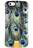 iPhone 6S Case / iPhone 6 Case, Tough Shield [Drop Protection] Soft Interior [Scratch Resistant] Perfect-Fit [Shock Absorbing] [Non-Slip] Hybrid Hard Armor Case, Peacock Feather - 6113i1