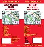 Boise / Caldwell / Nampa / Meridian, Idaho Street Map