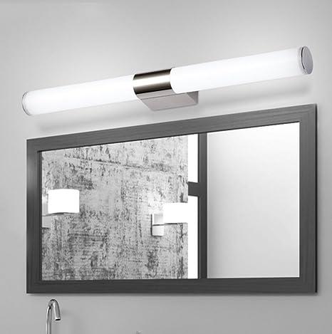 Hohe Shop Led Spiegel Vorderes Licht Einfaches Modernes Edelstahl