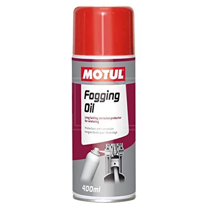 MOTUL 106558/74 1 x 400 ml Aceite Spray Fog Planteó Oil: Amazon.es ...