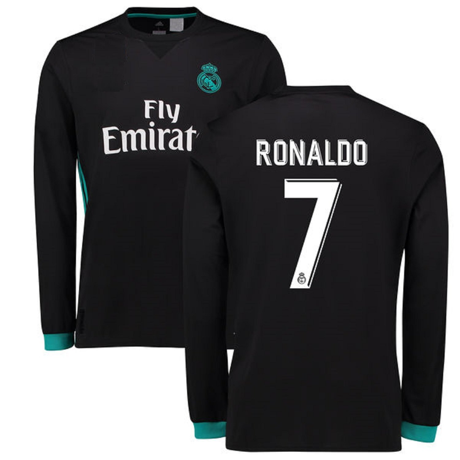 Real Madrid Away Ronaldo Kids  7 Soccer Kit Jersey and Shorts All Youth  Sizes RAMFC larger image 2126a0acf